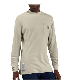 CARHARTT  Flame-Resistant Traditional Long Sleeve T-Shirt
