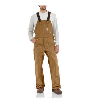 CARHARTT      Flame-Resistant Duck Bib Overall/Unlined #101627