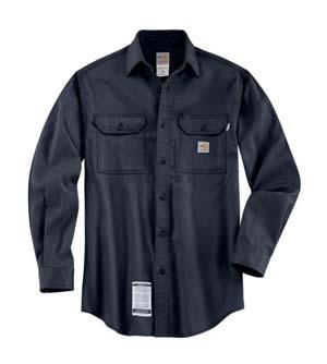 CARHARTT     FR Work Dry Lightweight Twill Shirt