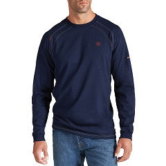 ARIAT          FR Work Crew     LONG  SLEEVE   TEE SLEEVE