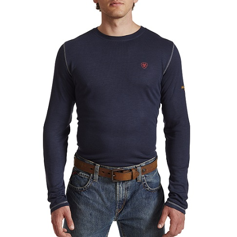 FR Polartec LS Baselayer Navy