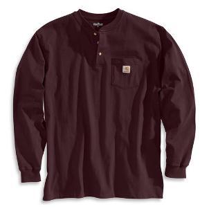 Carhartt Workwear Long-Sleeve Henley (  Not  FR )