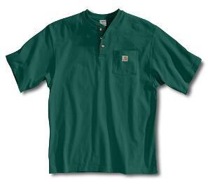 CARHARTT Workwear Pocket Short Sleeve Henley ( NOT FR )