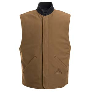 BULWARK FR Brown Duck Vest Jacket Liner