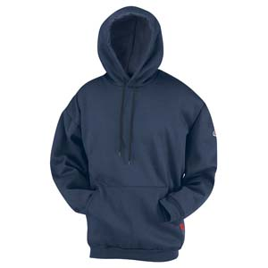 FR    Zipper Fleece Hooded Sweatshirt      BULWARK
