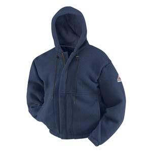 Zipper Front Sweatshirt      BULWARK  FR
