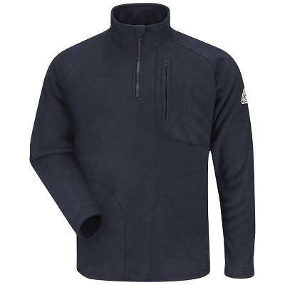 FR      1/4 Zip Fleece Sweatshirt    NO   TALLS