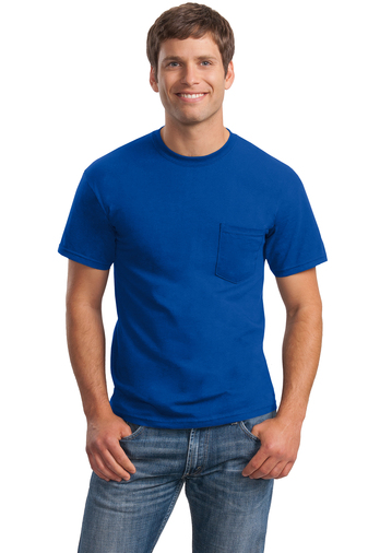 GILDAN POCKET T-SHIRT (non Fr)