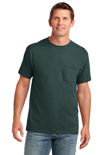 Port&Company® Core Cotton Pocket Tee (non Fr)