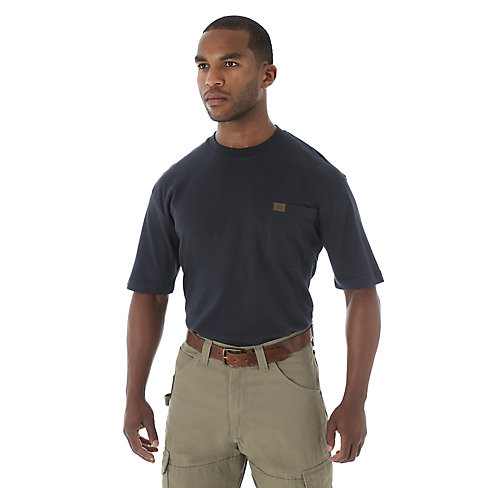 WRANGLER® RIGGS WORKWEAR® SHORT SLEEVE POCKET T-SHIRT (NON FR)