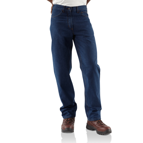 CARHARTT FLAME-RESISTANT RELAXED FIT JEAN/STRAIGHT LEG #frb100